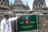 Alami kerusakan, wisatawan Borobudur dibatasi sampai lantai 8