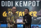BNN mengukuhkan Didi Kempot sebagai relawan antinarkoba