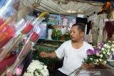 Penjualan bunga meningkat di hari Valentine