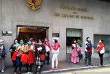 PMI NTT di Hong Kong minta dikirimkan masker