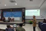 Dekan Fakultas Teknik Universitas Pancasila Budhi M. Suyitno ketika memaparkan konsep Kampus Mereka di FTUP.