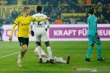 Haaland bantu Dortmund kembali ke jalur kemenangan 4-0
