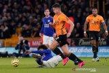 10 pemain Leicester City bawa pulang satu poin dari kandang Wolverhampton
