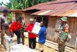 TNI salurkan bantuan pertanian ke Kelompok Tani Kombut di Boven Digoel