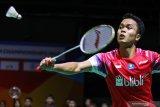 Anthony Ginting segel tiket perempatfinal Thailand Open