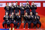 Manajer tim Susy Susanti puji penampilan tim bulu tangkis putra Indonesia