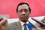 Mahfud MD tegaskan undang-undang tak bisa diubah melalui PP