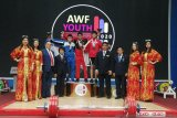 Lifter Rizky Juniansyah pecahkan dua rekor dunia remaja di Uzbekistan