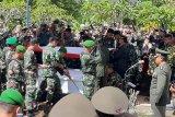 Prajurit korban kecelakaan Helikopter Mi-17 dimakamkan di Banyumas