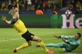 Dua gol Haaland antarkan Dortmund bungkam PSG