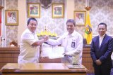 Bangkitkan ekonomi kerakyatan Pemprov Lampung jalin nota kesepahaman dengan perusahaan pupuk dan bank