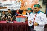 Pasangan Yoyo-Madi serahkan bukti dukungan ke KPU Kotim