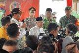 Wapres meninjau rumah tahan gempa untuk korban bencana di Mataram