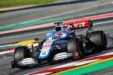 George Russell rasakan peningkatan performa mobil baru Williams di Barcelona