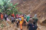 Tanah longsor di  Wonosobo, satu tewas