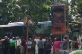 bentrokan massal akibat motor di Jalan Pemuda