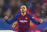 Striker Barca Braithwaite janjikan kondisi lebih baik saat kembali ke Liga Spanyol