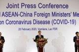 Kepada Menlu Prancis, Wang Yi nyatakan siap bersikap tegas terhadap sikap AS