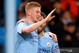 Gol Hernandez dan Bruyne antar Man City menang atas West Ham