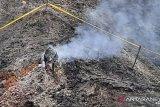 Gas dan asap yang muncul tidak berasal dari aktivitas gunung api