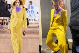 Harry Styles kenakan pakaian wanita di Brit Awards