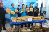 BNN amankan empat tersangka pengiriman 50 kg ganja dari Aceh