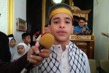 Motivator dan dai cilik asal Palestina berbagi ilmu di Makassar