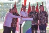 Presiden Jokowi resmikan pabrik APR di Pelalawan