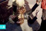 Katy Perry terjatuh saat ledakan kebocoran gas di audisi American Idol