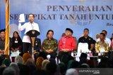 Presiden Jokowi serahkan 2.576 sertifikat tanah di Bireuen