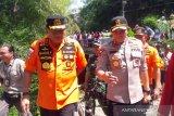 Kepala Basarnas apresiasi kinerja personel gabungan pencarian siswa hanyut