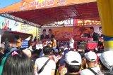 Gerindra Lampung rayakan HUT ke-12 ajak warga jalan sehat