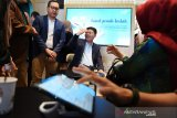 Lauching digital branch bank Syariah Mandiri