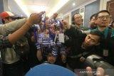 Puluhan pewarta memboikot acara perilisan tim Persib