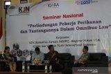 Omnibus law dinilai rugikan nelayan Indonesia