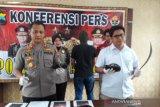 Empat pelajar konvoi bawa senjata tajam diamankan