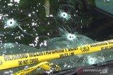 Baku tembak dengan polisi, dua perampok minimarket tewas