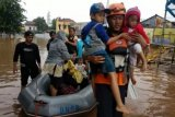 3.565 jiwa mengungsi akibat banjir Jakarta