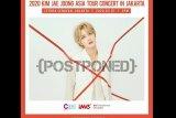 Konser Kim Jae-joong di Jakarta ditunda akibat corona