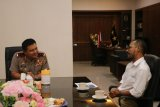 Kapolda NTB terima kunjungan silaturahmi Kabiro LKBN ANTARA NTB