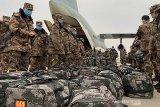 Militer Tibet gelar simulasi perang