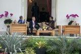 Presiden Jokowi bertemu Blair dan Masayoshi bahas proyek ibu kota baru