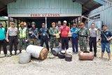Tim gabungan Polri dan  Paskhas TNI AU temukan tanaman ganja di Oksibil