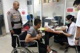 Anggota Polda Metro Jaya ditikam saat lerai tawuran di Daan Moot