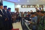 Ganefri dilantik jadi Ketua Tandfidziyah PWNU Sumbar oleh Said Aqil Siradj