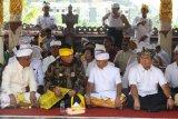 Ribuan umat Hindu di Lampung gelar prosesi Puja Wali