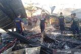 Polres Palu selidiki penyebab kebakaran rumah di Palu Barat