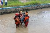 Korban hanyut di Sungai Glagahan ditemukan meninggal