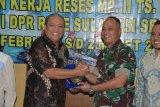 Danlantamal VI paparkan program Garuda Di Lautku kepada Komisi I DPR