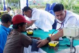 KAI Divre IV Tanjungkarang gelar pengobatan gratis di Stasiun Gedung Ratu Natar